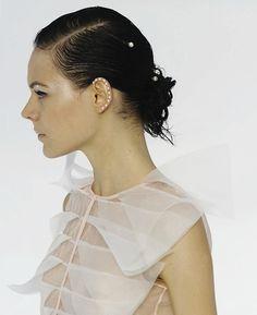 Kinga Rajzak at Chanel S/S 2012