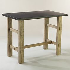 Saw this table today, LOVE it!!!  We don't need a huge one in our tiny kitchen - this is perfect!!