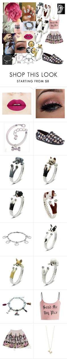 """""""puppies/dogs"""" by savithebunny ❤ liked on Polyvore featuring Skechers, Dog Fever, Steel City and Sydney Evan"""