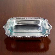Serving Pieces BEADED SMALL CASSEROLE from Barbara Stewart Exclusives in Bowling Green, KY from Barbara Stewart Interiors