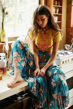 nice Serene Bohemian | Your Guide To Dreamy Boho Style by http://www.globalfashionista.xyz/hippie-fashion/serene-bohemian-your-guide-to-dreamy-boho-style/