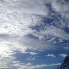 Cloud cover this afternoon #sky #cloud #skyart