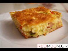 Κουρκουτόπιτα (Pie with batter english subtitles) Quiche, Food And Drink, Pie, Breakfast, Recipes, English, Kitchen, Youtube, Projects