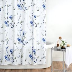 Shower Curtains You'll Love in 2020 | Wayfair Extra Long Shower Curtain, Cute Shower Curtains, Colorful Shower Curtain, Curtain Accessories, Bathroom Accessories, Plywood Furniture, Furniture Design, Eames, Serene Bathroom
