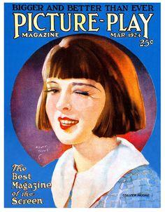 BIG Fridge Magnet #1830 – Vintage 1924 Movie Magazine – Colleen MOORE