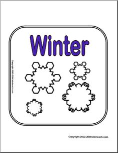 Winter Theme Unit - Free Printable Worksheets, Games, and Activities for Kids   abcteach