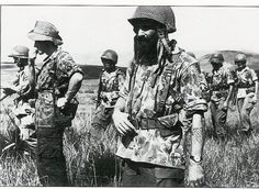 Indochina | A Pioneer of the French Foreign Legion, sporting his traditional (and mandatory) beard.