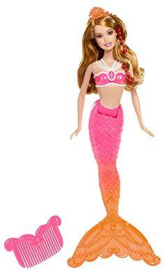 Mattel Barbie BDB49 - La principessa delle perle - Sirena - Bambola con colori cangianti - colore: Rosso Barbie http://www.amazon.it/dp/B00EVX122C/ref=cm_sw_r_pi_dp_0jczvb0DQ6Y20