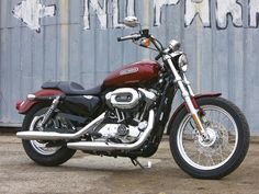 harley sportster 1200 low.  ...one day