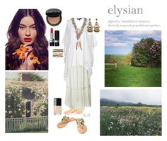 """""""Julia - A Boho Beauty at Peace In Her Idyllic, Elysian Homestead"""" by chrisiggy on Polyvore featuring ASOS, DAY Birger et Mikkelsen, Forever Unique, New Look, Bobbi Brown Cosmetics, Jessica Carlyle and Christian Dior"""