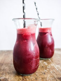 Juice med æble og rødbede