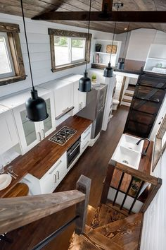 Massive Canada Goose tiny house is worth a ganderYou can find Tiny house kitchens and more on our website.Massive Canada Goose tiny house is worth a gander Tiny Houses For Rent, Tiny House Loft, Best Tiny House, Modern Tiny House, Tiny House Plans, Tiny House On Wheels, Tiny House Design, Tiny Houses Canada, Wood House Design
