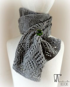 thanks to some wonderful test-knitters, the lulu's scarf pattern is now available. Knitted Shawls, Crochet Hats, Short Scarves, Checkerboard Pattern, Ascot, Lace Knitting, Tangled, Winter Hats, Texture
