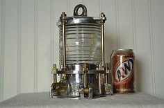 Ships aluminum navigation nautical light