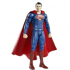 Mattel's Batman v Superman Superman action figure is part of the DC Multiverse line. These are high-quality, collectible action figures.