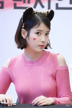 IU ☼ Pinterest policies respected.( *`ω´) If you don't like what you see❤, please be kind and just move along. ❇☽ Korean Girl, Asian Girl, K Pop Star, Iu Fashion, K Idol, Korean Actresses, Korean Singer, Beautiful Actresses, Kpop Girls