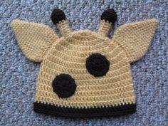 Modelos Giraffe Gorro Crochetar -  /    Giraffe Hat Crochet Designs -