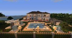 Hollywood Style | Minecraft House | Minecraft Building Inc
