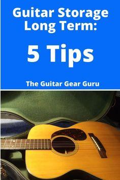 You love your guitar, but you might have to put it away for a while.  This guide gives you 5 tips for storing your guitar for the long run! Guitar Neck, Guitar Body, Guitar Tips, Guitar Lessons, Love Yourself Guitar, Guitar Storage, Types Of Guitar, Pickup Covers, Cool Electric Guitars
