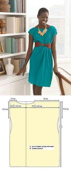 Easy dress sew pattern