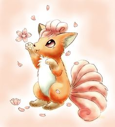 Vulpix by shiroiwolf.deviantart.com on @deviantART