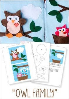 Felt Quiet Book : HowDoesShe Quiet Book – Patterns now AVAILABLE!