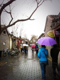 the Hutong neighborhood of Beijing, China.  #travel #China #Beijing