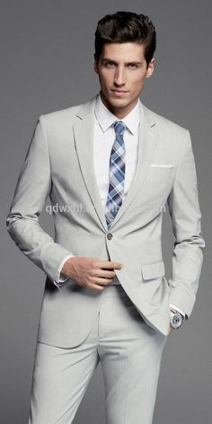Click to enlarge New Style Off-white Color Wedding Dress Suits For Men 2014 - Buy