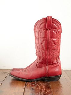 red boots, Razorback game day must.