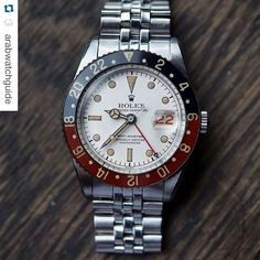 """""""#Repost Alert  great shot by @arabwatchguide also check out there page ・・・ What a beautiful Albino GMT Master @eastcrown_japan @hodinkee #luxurylife #luxury #wristwatch #watchporn #watches #watch #billionaire #millionaire #watchcollector #rolex #rolexwatch #classy #rich #rolexgmtwatch #rolexgmt"""" Photo taken by @millionaireshoppinggroup on Instagram, pinned via the InstaPin iOS App! http://www.instapinapp.com (08/11/2015)"""