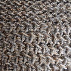 Tunisian Crochet: Lots of different stitches & stitch patterns, especially if opened on the PC