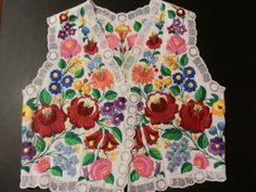 Hey, I found this really awesome Etsy listing at https://www.etsy.com/listing/182029226/vintage-waistcoat-embroidery-hungarian