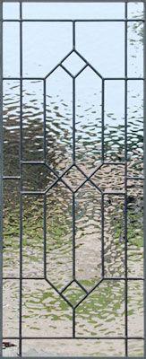 leaded glass Waterglass window
