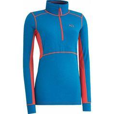Svala H/Z thermoshirt dames blauw