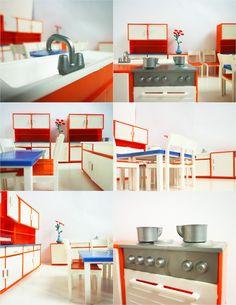 Vintage Dollhouse Furniture