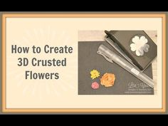 Quick Crafting Tip - How to Make 3D Formed & Crusted Flowers  Stampin' Up!, card, paper, craft , scrapbook, rubber stamp, hobby, how to, DIY, handmade, Lisa Curcio, Pansy Punch, wedding, favor, gift, Blossom Bunch Punch, Spritzer, http://www.lisasstampstudio.com