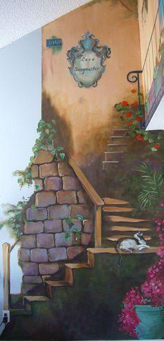 Bildergebnis für illusions wandmalerei romantisch