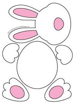 Easter Bunny Templates - Fun Cutouts and Activities for Easter, # Activities . - Easter Bunny Templates – Fun Cutouts and Activities for Easter, bunny templat - Bunny Crafts, Easter Crafts For Kids, Toddler Crafts, Preschool Crafts, Easter Projects, Easter Activities For Kids, Easter Ideas, Easter Crafts For Preschoolers, Toddler Preschool