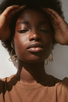 BAR Jewellery - Spiral Earrings - Worn by Vanessa, Photographed by Thu Thuy Pham