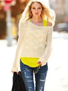 Boyfriend Sweater - Victoria's Secret