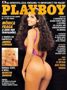 Playboy Brazil September 1990 Cover featured by Mônica Fraga