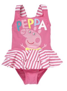 Peppa Pig Swimsuit - Mothercare