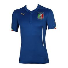 Puma Clothing & Sports Gear - Rebel Sport - Puma Mens Italy Football Club 2013 Home Replica Jersey