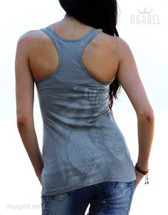 OGABEL.COM - Angelyn Grey Lightweight Racer, $23.95 (http://www.shopogabel.com/angelyn-grey-lightweight-racer/)
