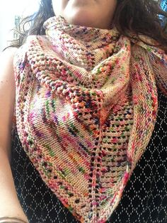 Ravelry: Either or Neither Shawl pattern by Jennifer Biehl