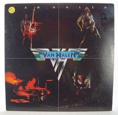 Vintage Van Halen Self Titled Debut Vinyl LP BSK 3075