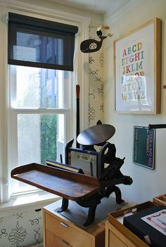 Letterpress by Cuddlefish Press, via Flickr