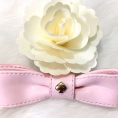 "NWT Kate Spade ""In the Loop"" Pink Patent Belt Pop of pretty pink! Slightly shiny, a little Kate Spade frosting on your favorite summer frock. All leather, no flaws, adjusts between 34""-40"". kate spade Accessories Belts"