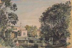 Rudolf Von Alt - Der Imperial Palast Livadia in der krim