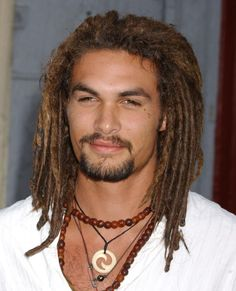 Jason Momoa-- I usually dislike men with long hair.. but.. oh ya know ;)  Thank you Game of Thrones..
